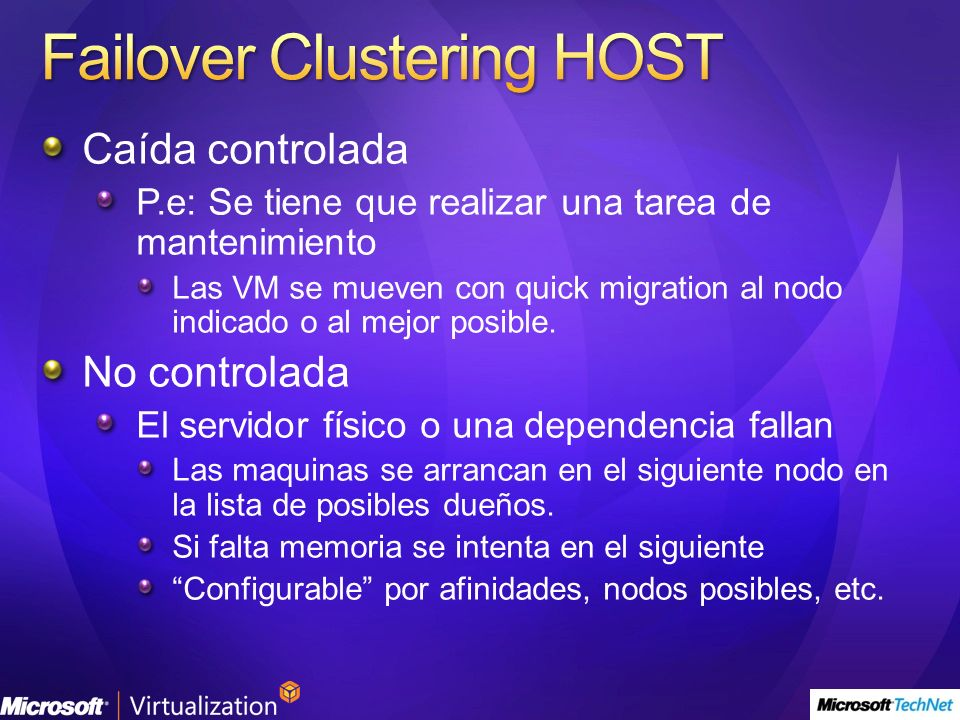 Failover Clustering HOST