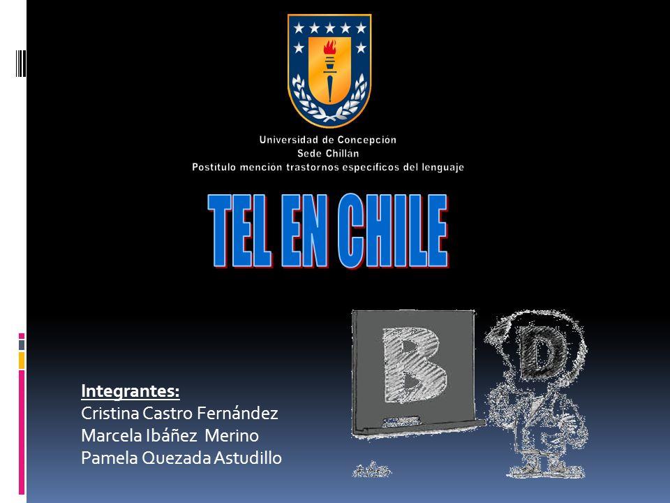 TEL EN CHILE Integrantes: Cristina Castro Fernández