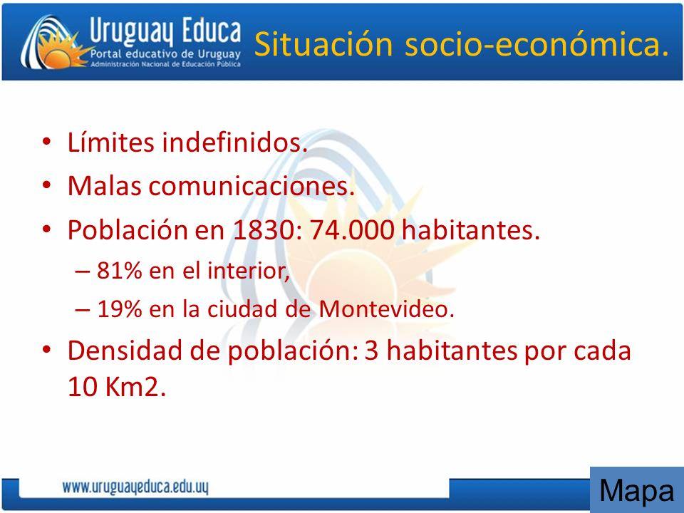 Situación socio-económica.