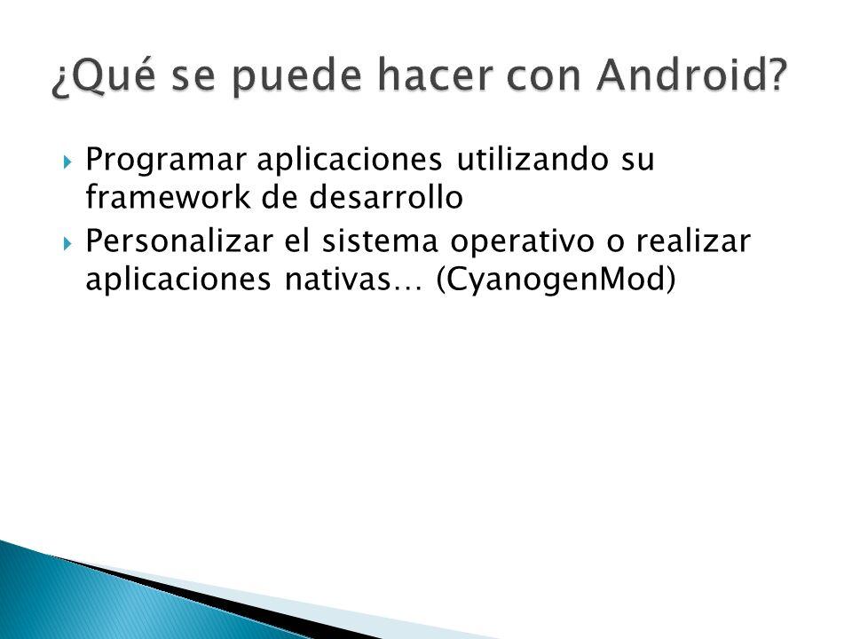 ¿Qué se puede hacer con Android