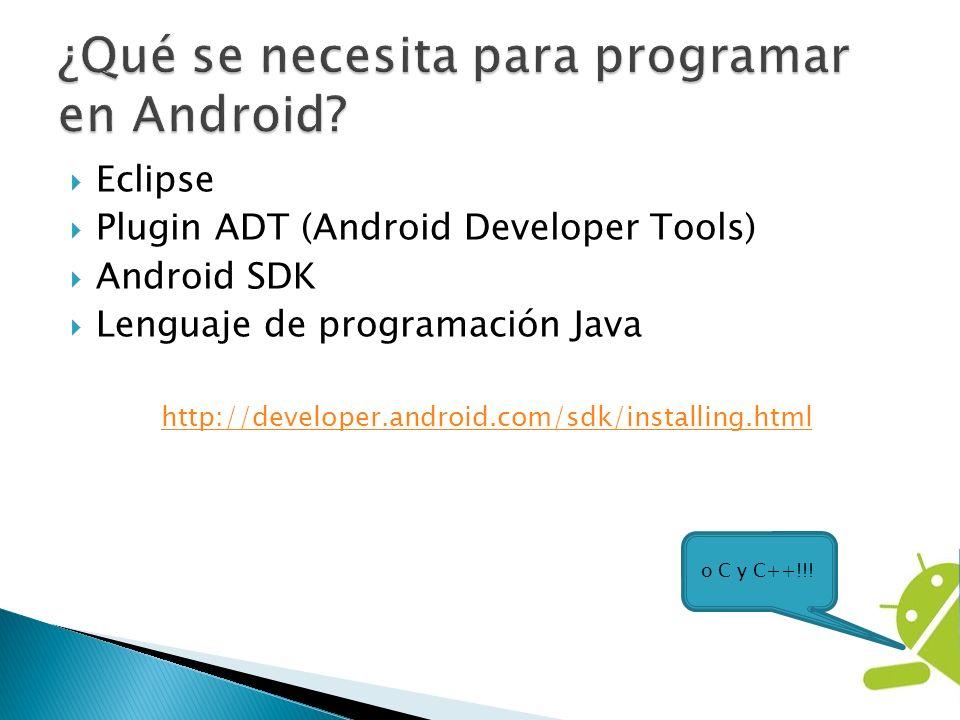 ¿Qué se necesita para programar en Android