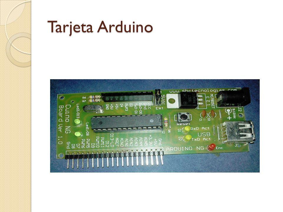 Tarjeta Arduino