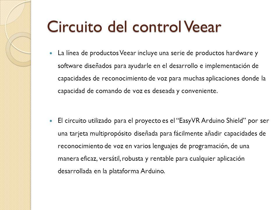 Circuito del control Veear