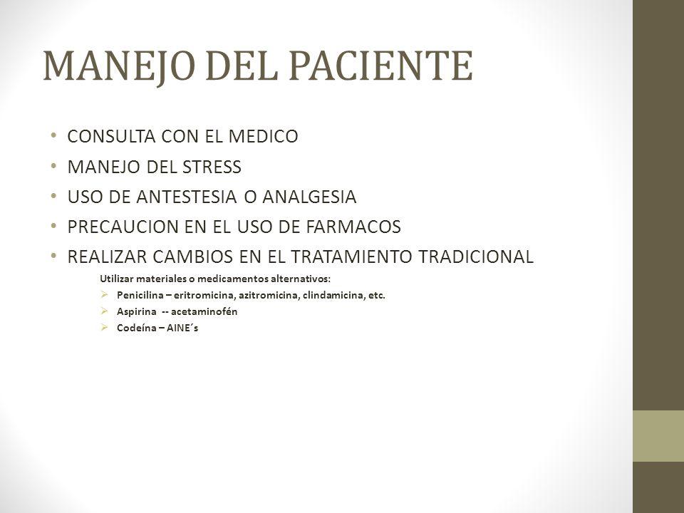 MANEJO DEL PACIENTE CONSULTA CON EL MEDICO MANEJO DEL STRESS