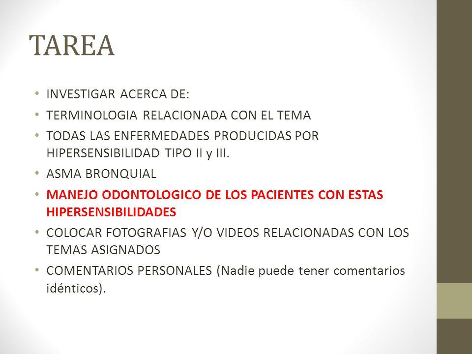 TAREA INVESTIGAR ACERCA DE: TERMINOLOGIA RELACIONADA CON EL TEMA