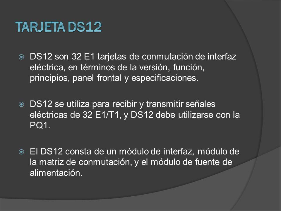 Tarjeta DS12