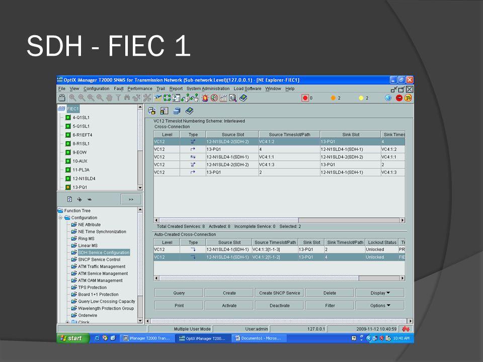 SDH - FIEC 1