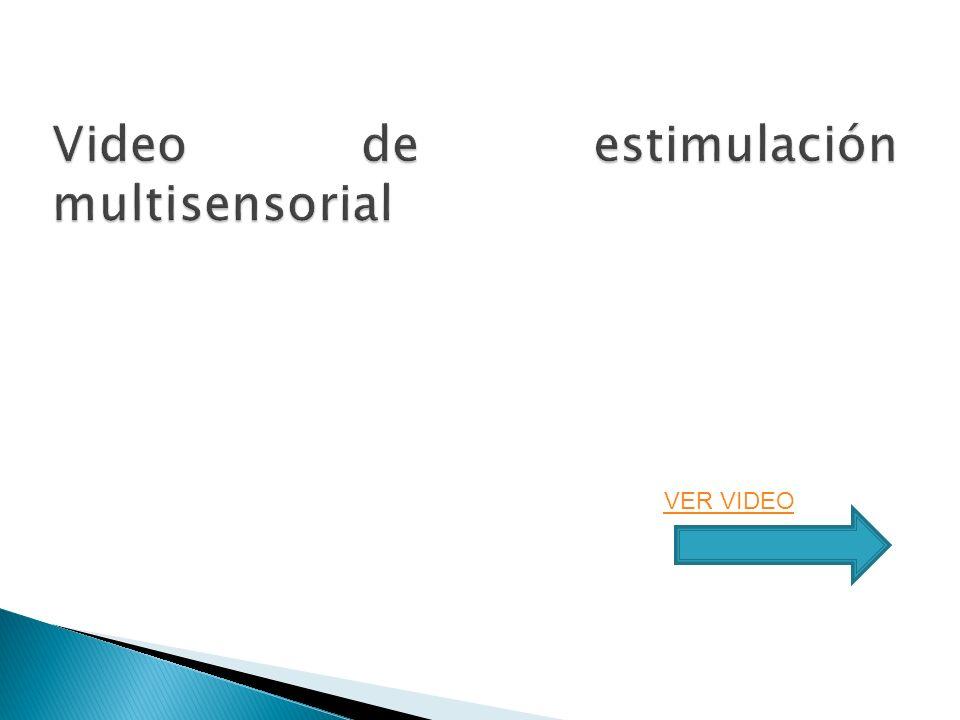 Video de estimulación multisensorial