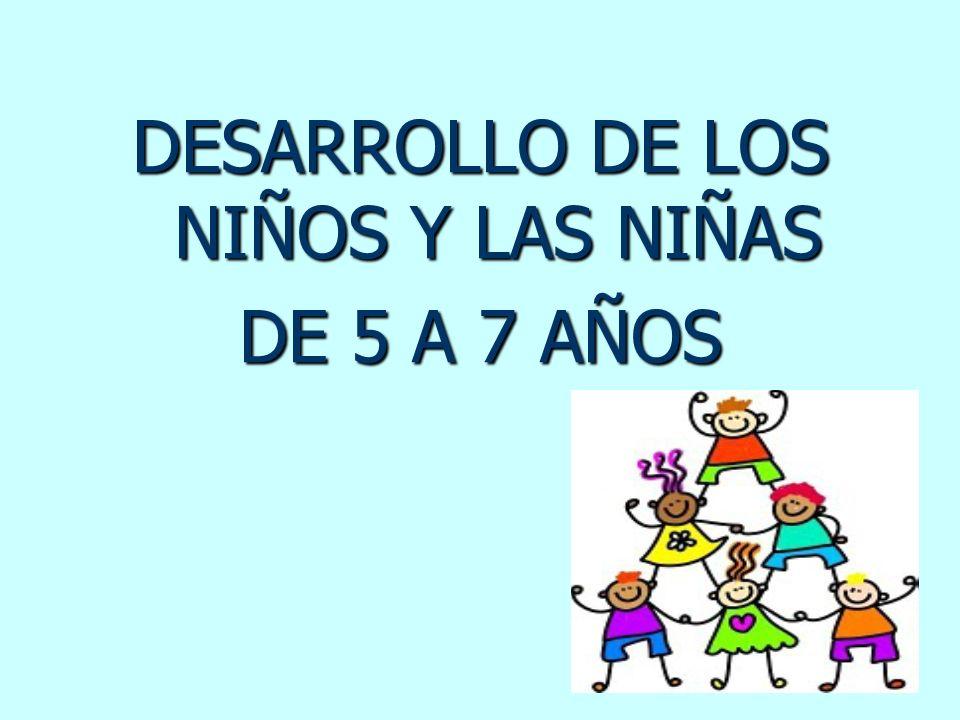 DESARROLLO DE LOS NIÑOS Y LAS NIÑAS