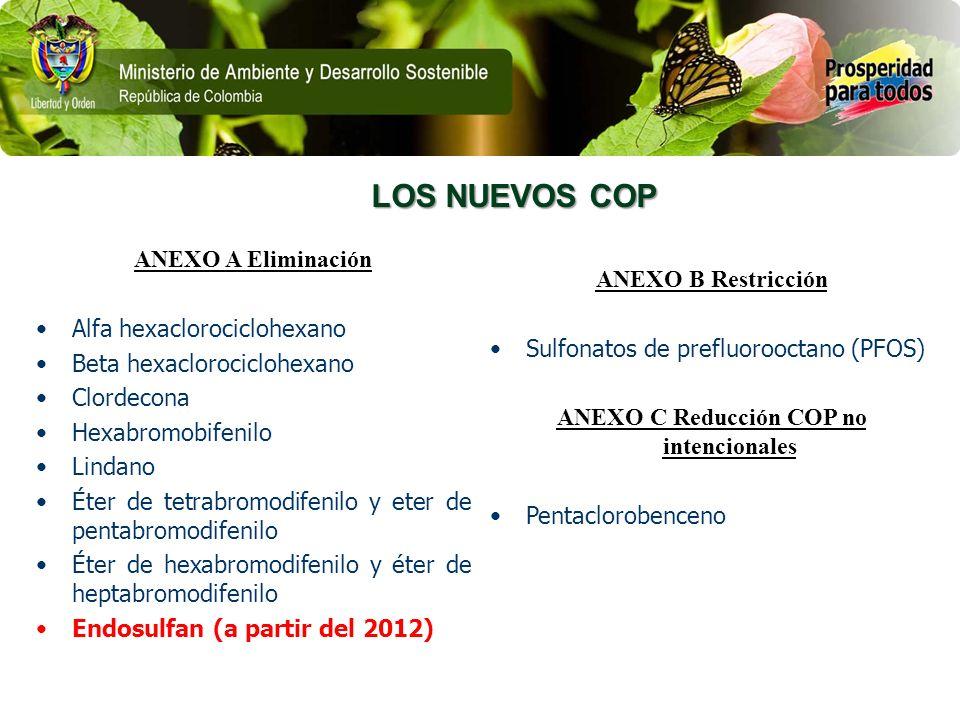 ANEXO C Reducción COP no intencionales