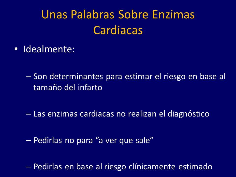 Unas Palabras Sobre Enzimas Cardiacas