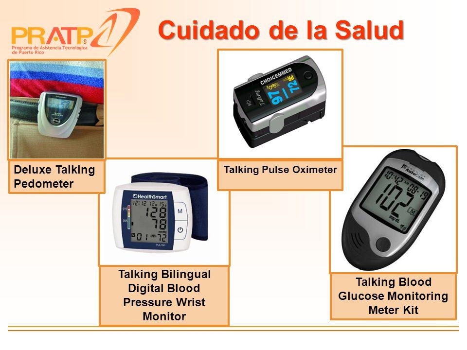 Cuidado de la Salud Deluxe Talking Pedometer