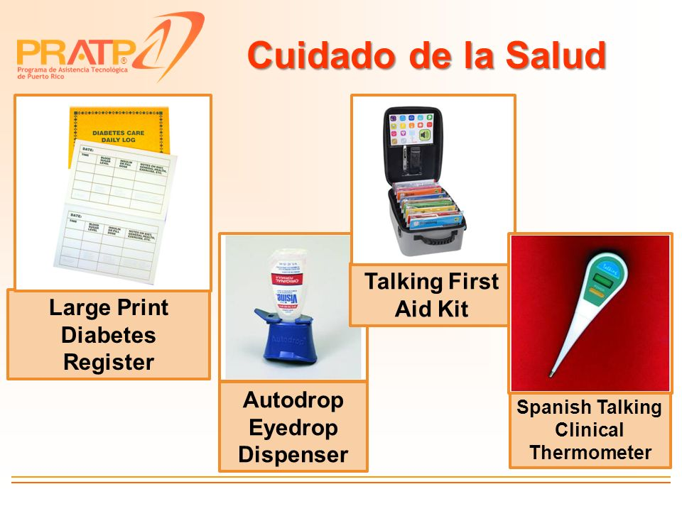 Cuidado de la Salud Talking First Aid Kit