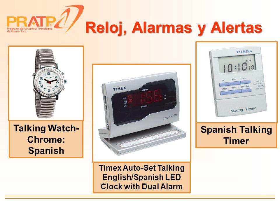 Reloj, Alarmas y Alertas