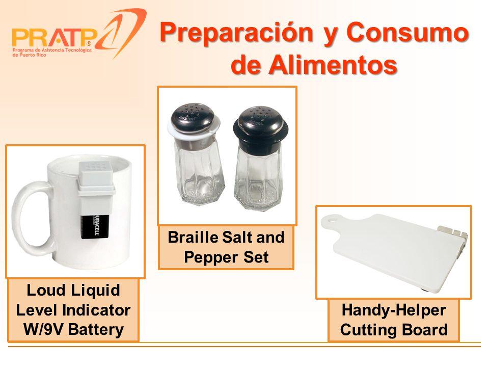 Preparación y Consumo de Alimentos