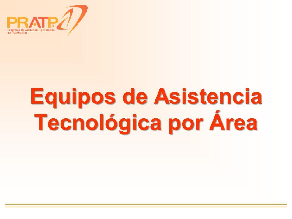 Equipos de Asistencia Tecnológica por Área