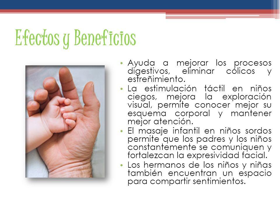 Efectos y Beneficios Ayuda a mejorar los procesos digestivos, eliminar cólicos y estreñimiento.