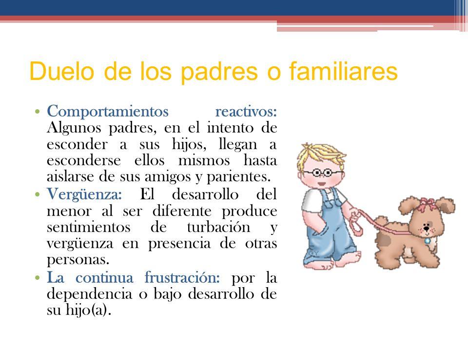 Duelo de los padres o familiares