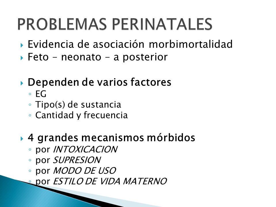PROBLEMAS PERINATALES