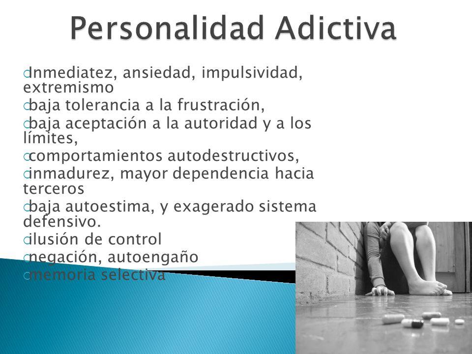 Personalidad Adictiva