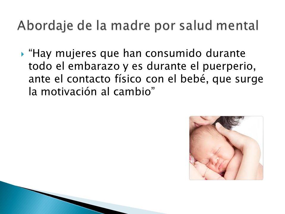 Abordaje de la madre por salud mental