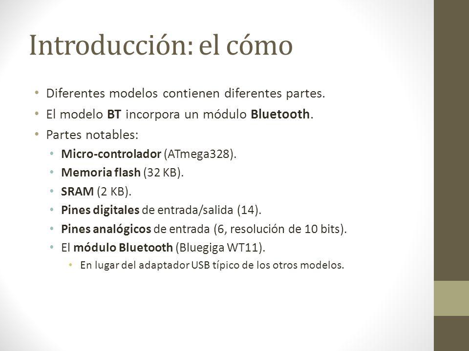 Introducción: el cómo Diferentes modelos contienen diferentes partes.