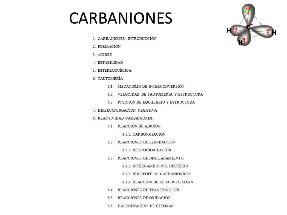 CARBANIONES
