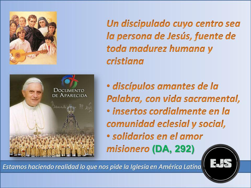 discípulos amantes de la Palabra, con vida sacramental,
