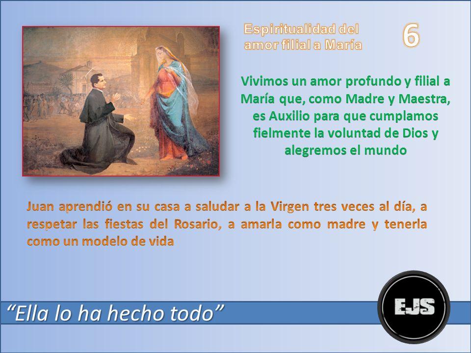 6 Espiritualidad del. amor filial a María.