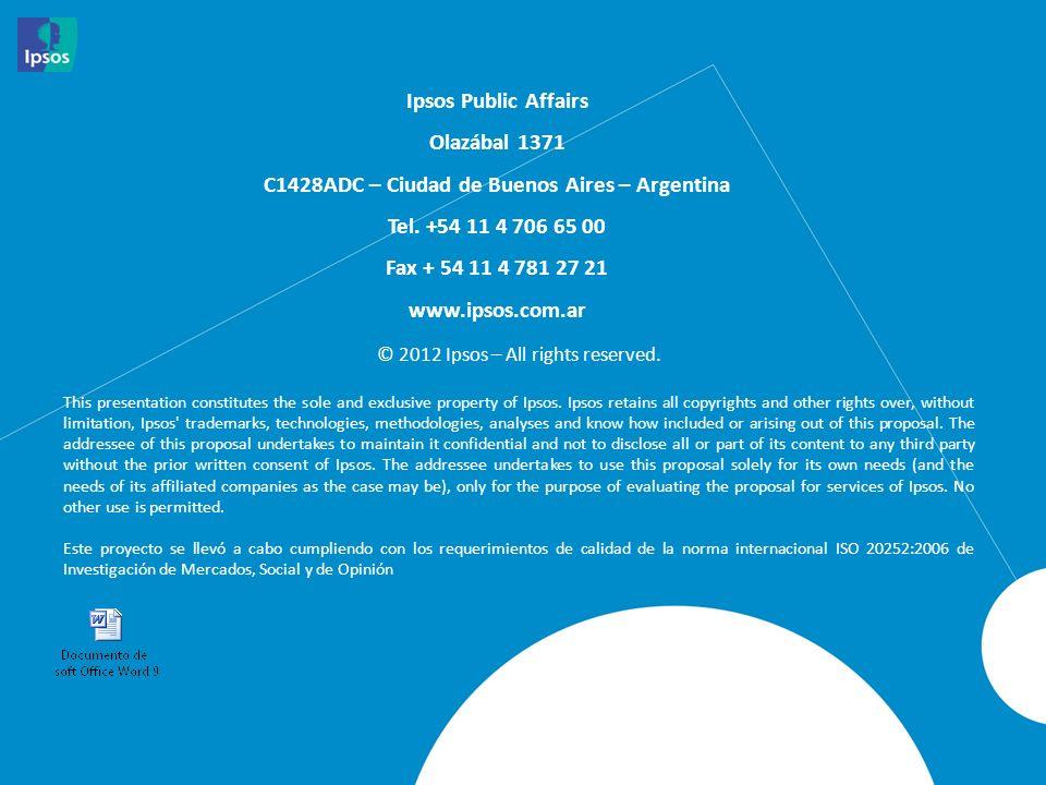 C1428ADC – Ciudad de Buenos Aires – Argentina