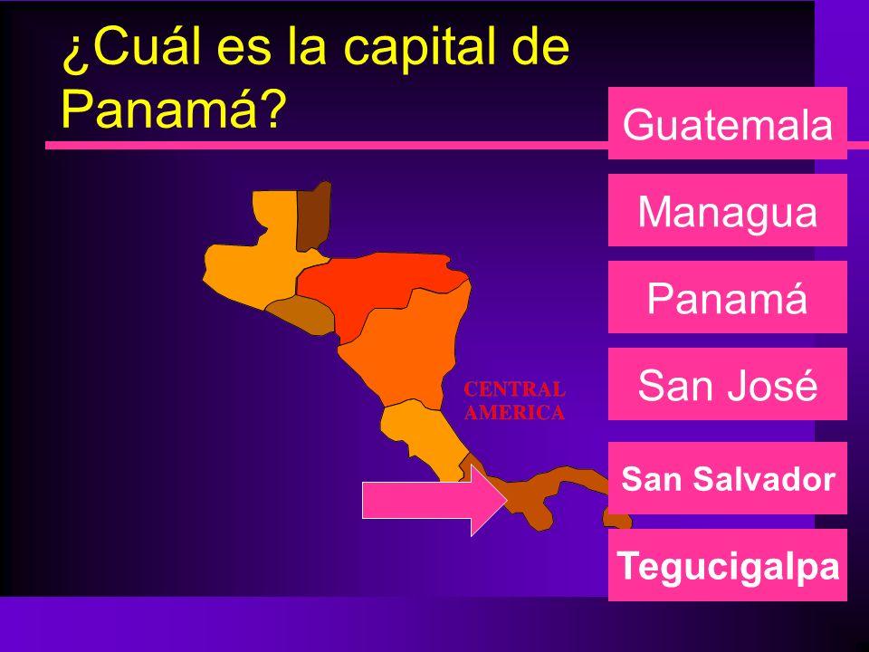 ¿Cuál es la capital de Panamá