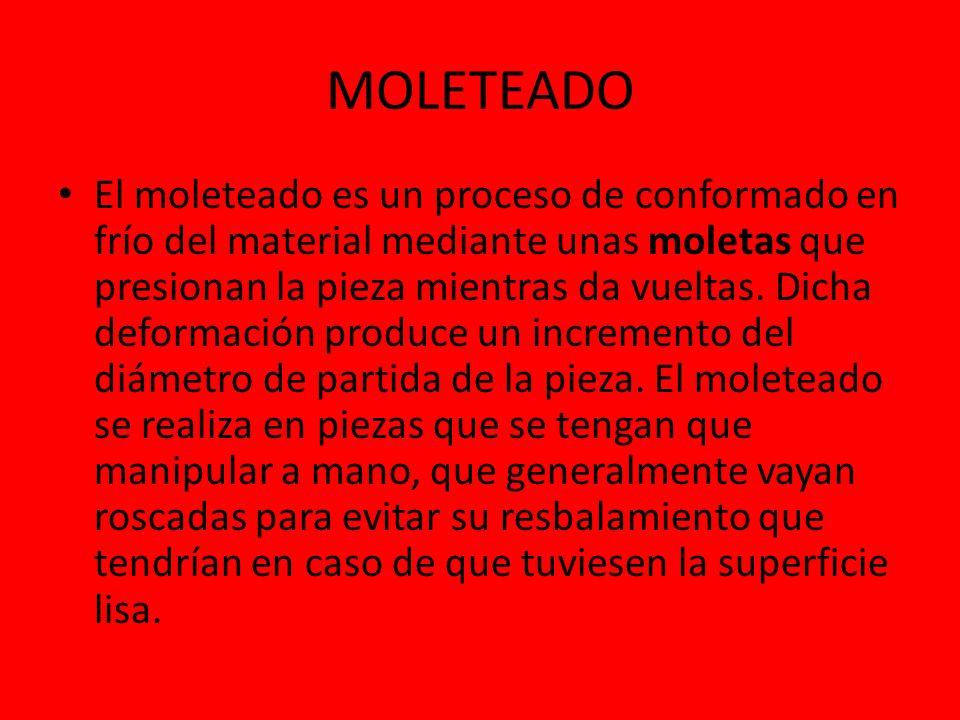MOLETEADO