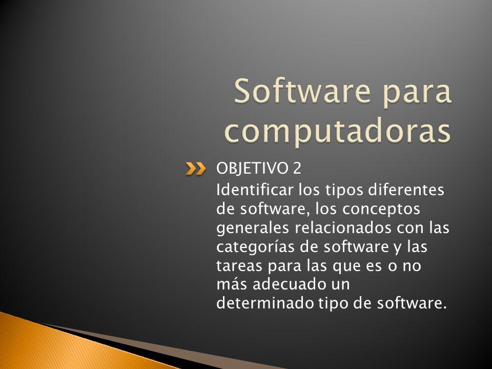 Software para computadoras