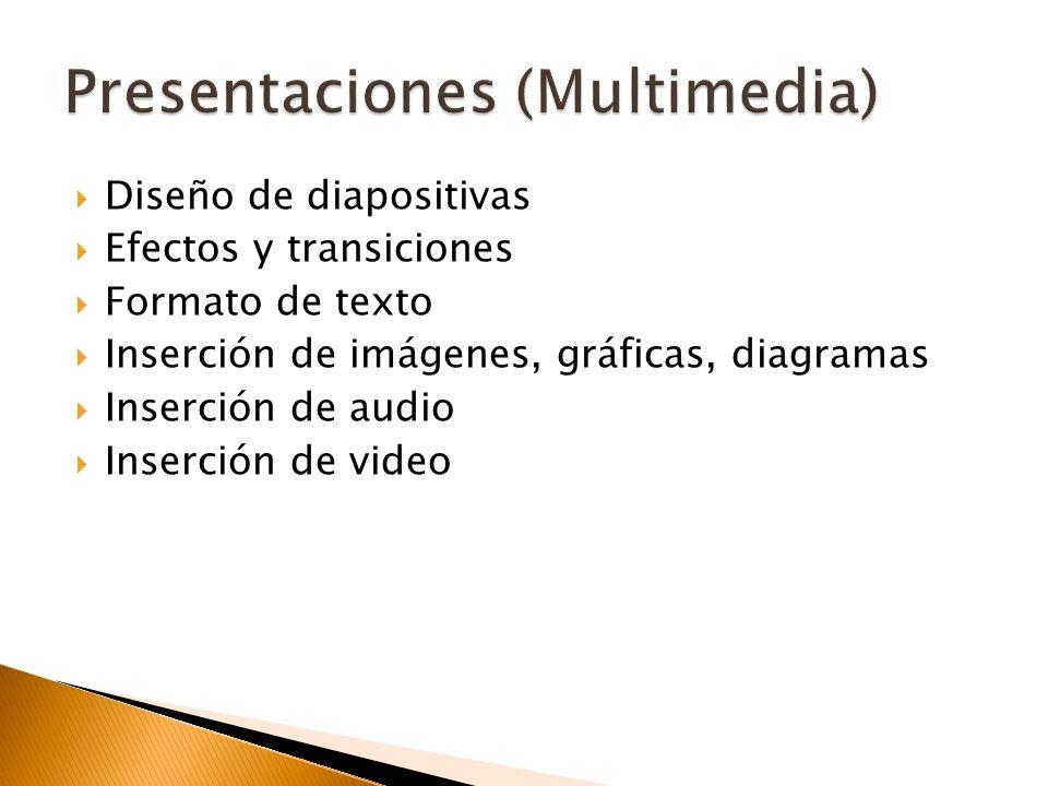 Presentaciones (Multimedia)