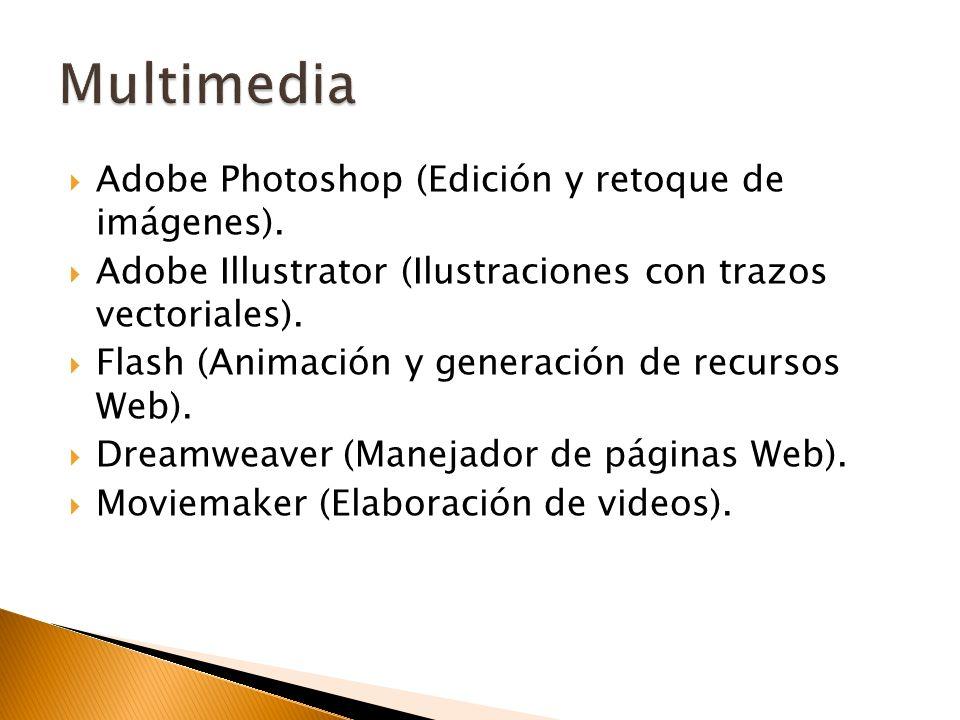 Multimedia Adobe Photoshop (Edición y retoque de imágenes).