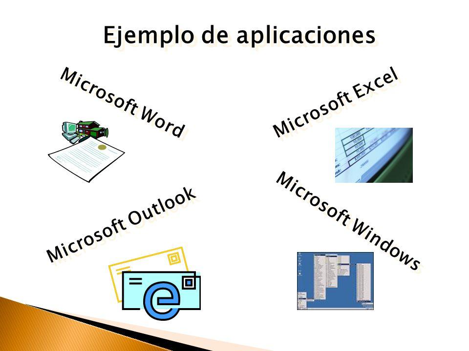Ejemplo de aplicaciones