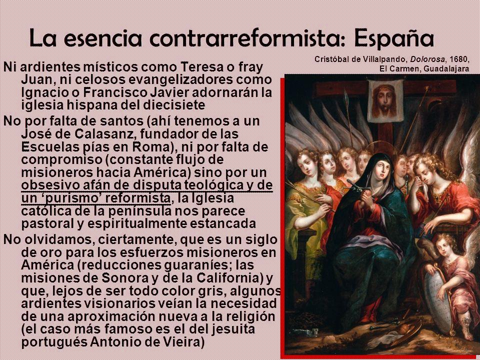 La esencia contrarreformista: España