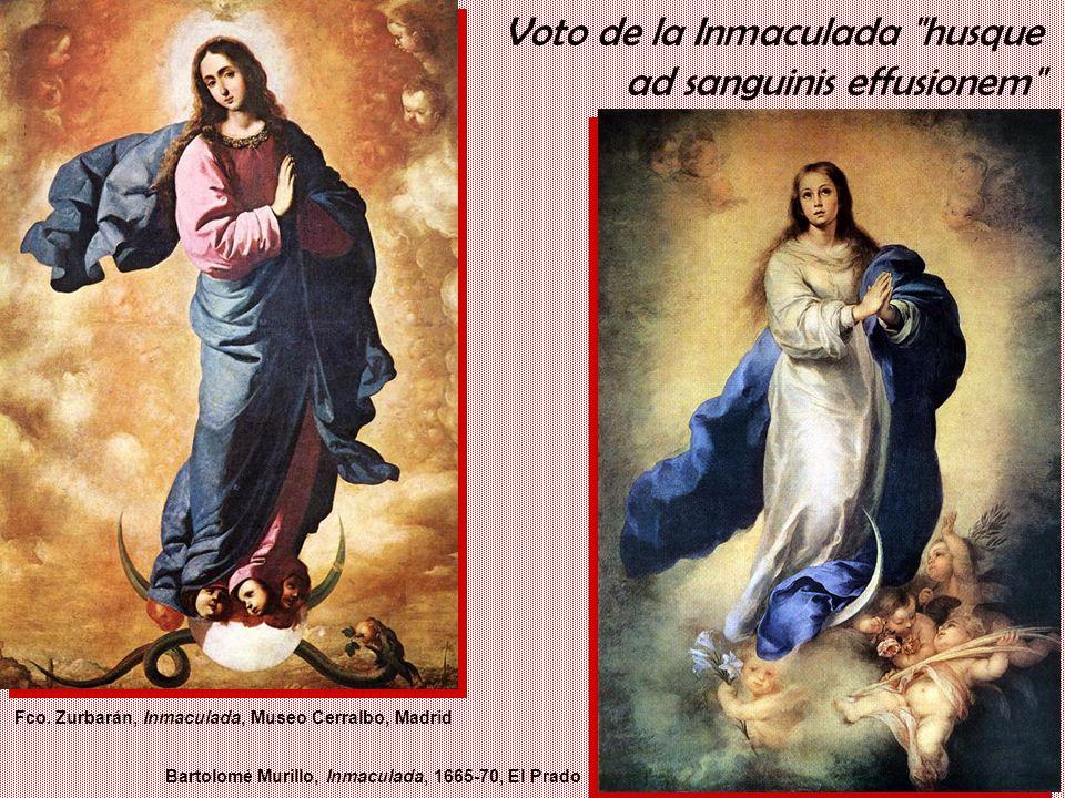 Voto de la Inmaculada husque ad sanguinis effusionem