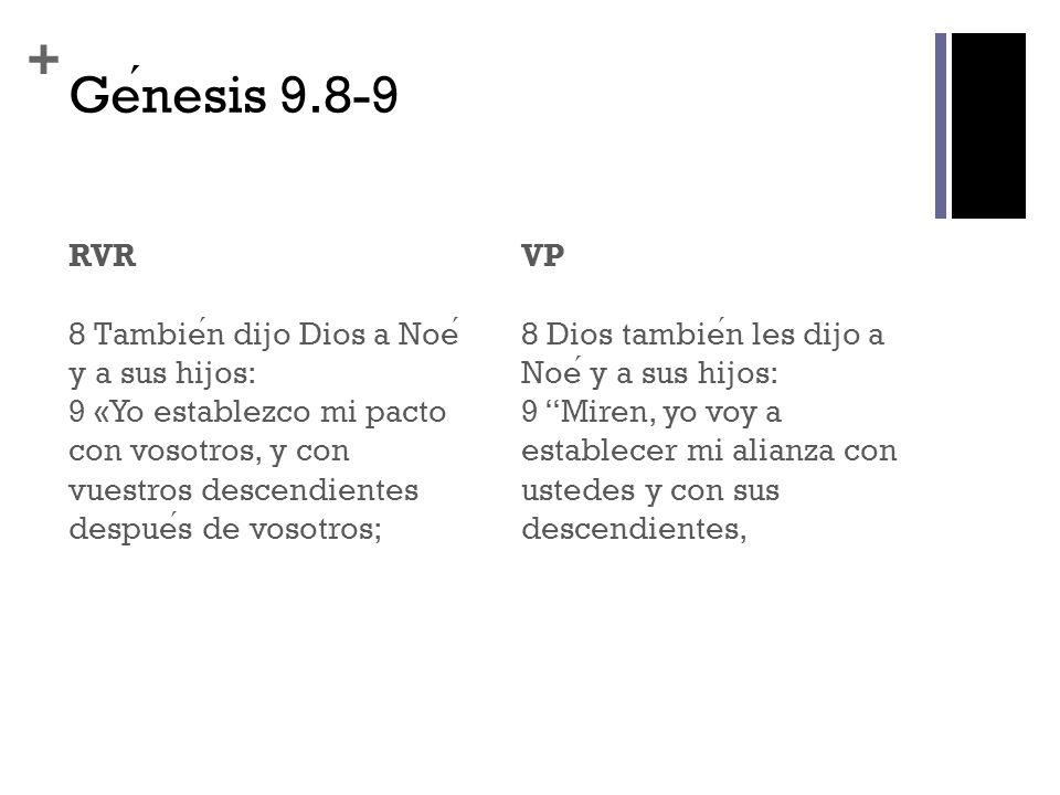 Génesis 9.8-9