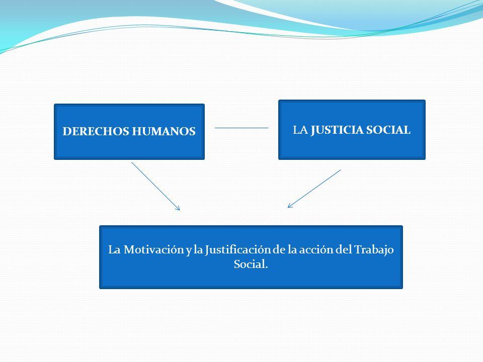 La Motivación y la Justificación de la acción del Trabajo Social.