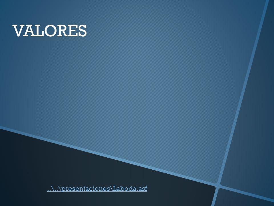 VALORES ..\..\presentaciones\Laboda.asf