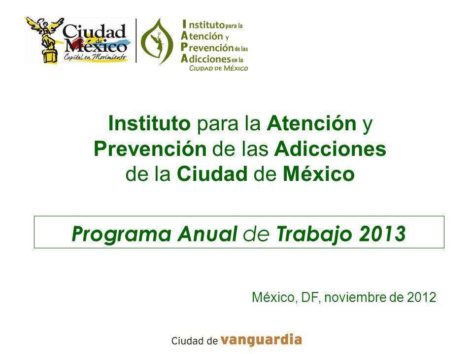 Programa Anual de Trabajo 2013