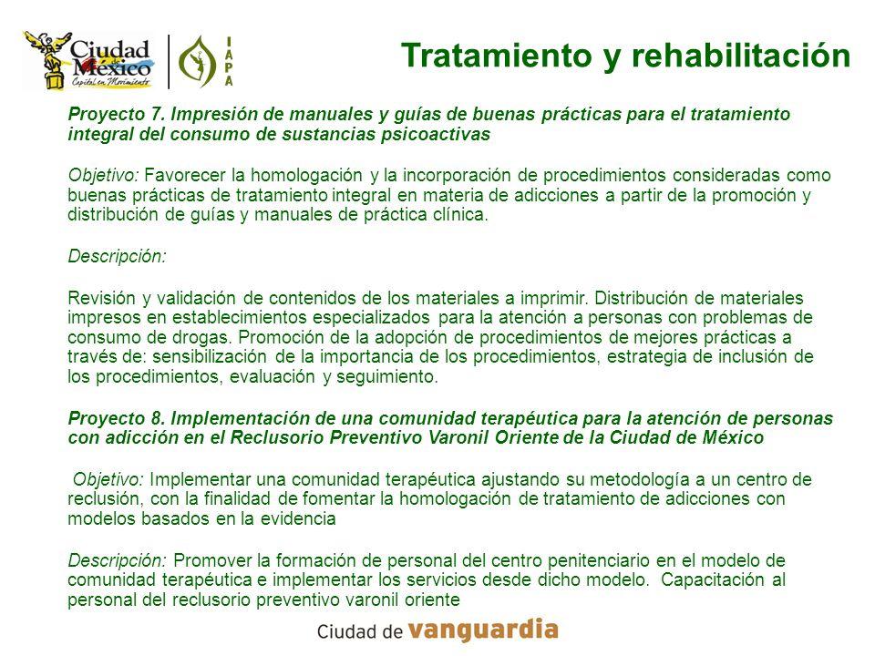 Tratamiento y rehabilitación