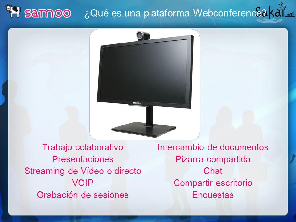 ¿Qué es una plataforma Webconference