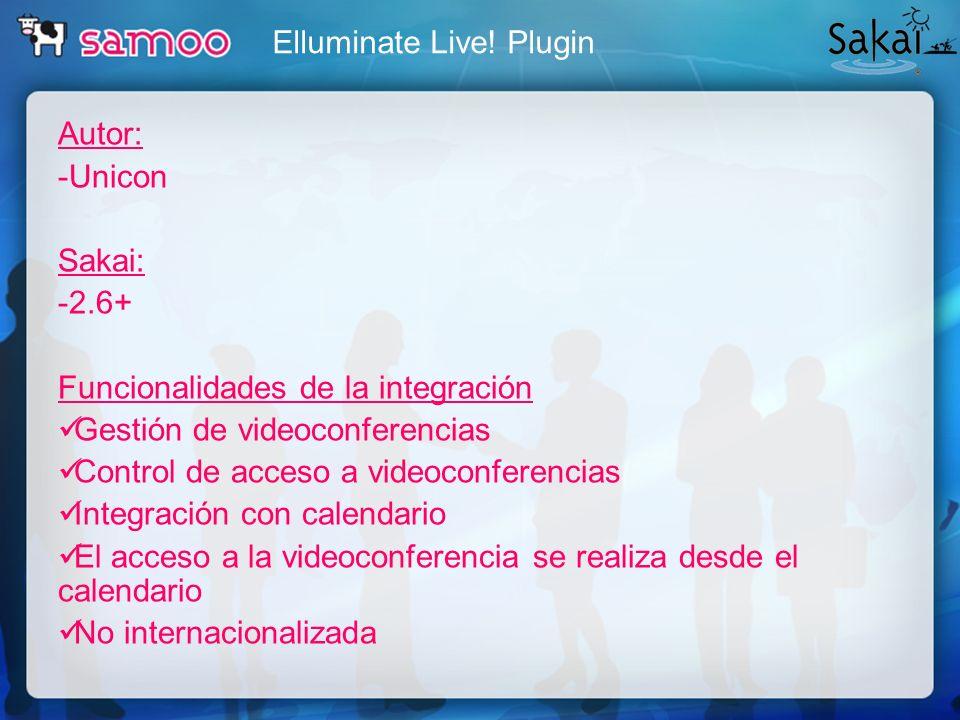 Elluminate Live! Plugin