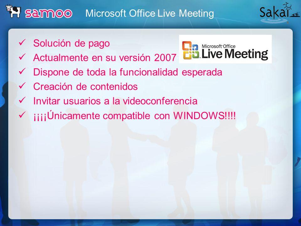 Microsoft Office Live Meeting