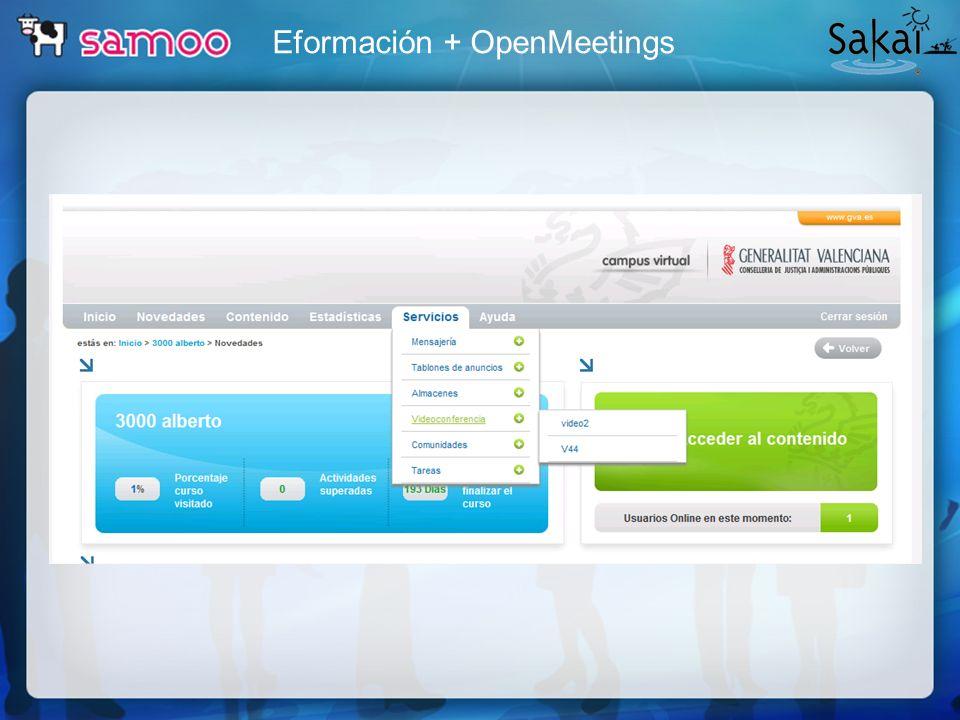 Eformación + OpenMeetings