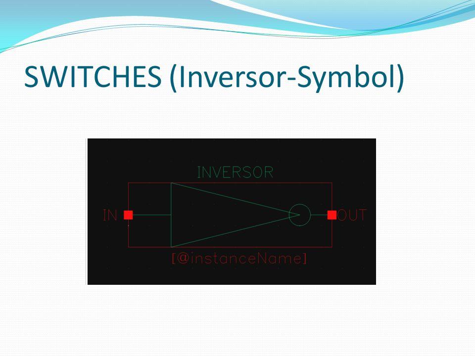 SWITCHES (Inversor-Symbol)