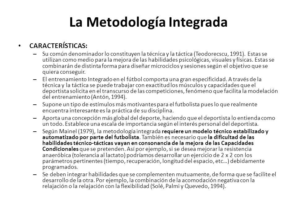 La Metodología Integrada