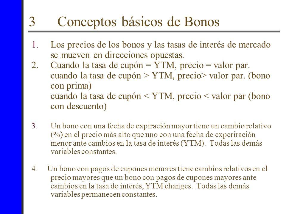 3 Conceptos básicos de Bonos